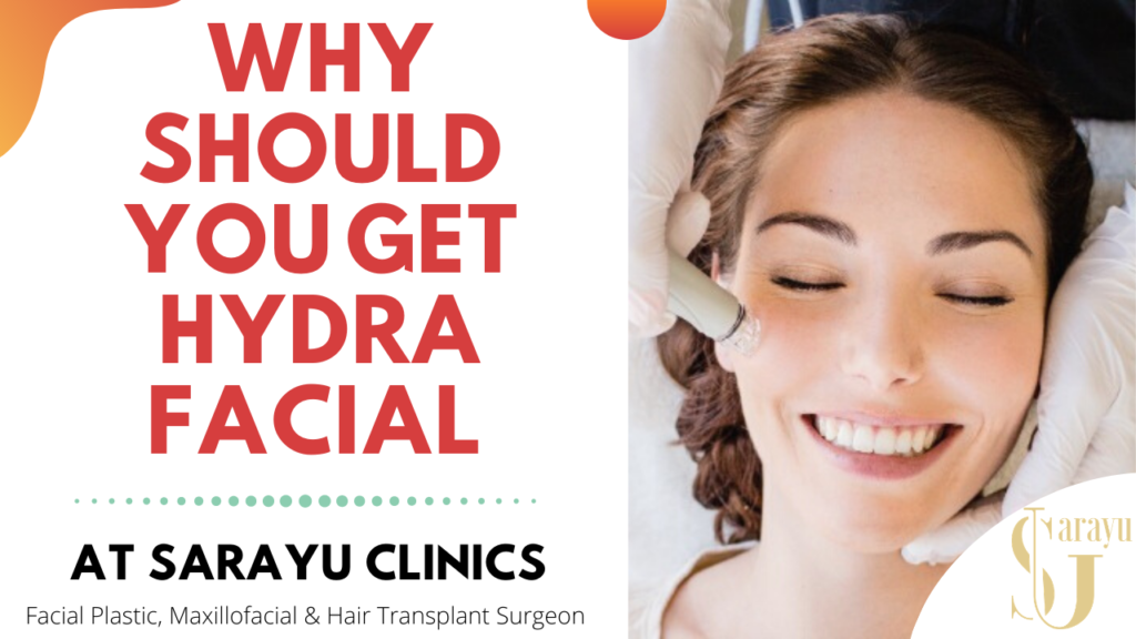HYDRAFACIAL AT SARAYU SKIN CARE CLINICS IN DELHI